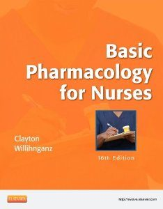 Test Bank (Downloadable Files) for Basic Pharmacology for Nurses, 16th Edition, Clayton, 0323086543, 9780323086547