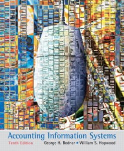 Test Bank (Downloadable Files) for Accounting Information Systems, 10th Edition, Bodnar 013609712X, 9780136097129