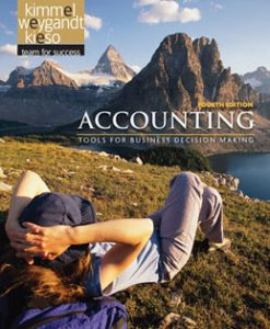 Test Bank (Downloadable Files) for Accounting Tools for Business Decision Makers, 4th Edition, Kimmel, 0470534788, 9780470534786