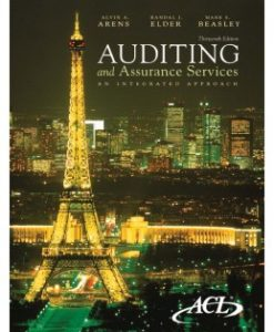 Test Bank (Downloadable Files) for Auditing and Assurance Services, 13th Edition, Alvin A. Arens, 0136084737, 9780136084730