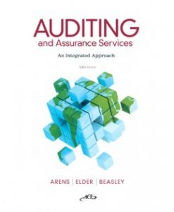 Test Bank (Downloadable Files) for Auditing and Assurance Services, 14th Edition, Alvin A. Arens, 0132575957, 9780132575959