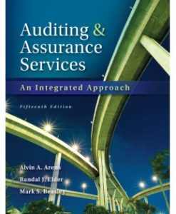 Test Bank (Downloadable Files) for Auditing and Assurance Services, 15th Edition, Alvin A. Arens, 013312956X, 9780133129564