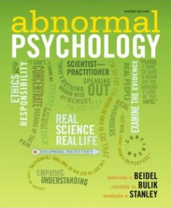 Test Bank (Downloadable Files) for Abnormal Psychology, 2nd Edition, Deborah C. Beidel, 020524842X, 9780205248421