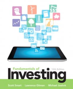 Test Bank (Downloadable Files) for  Fundamentals of Investing