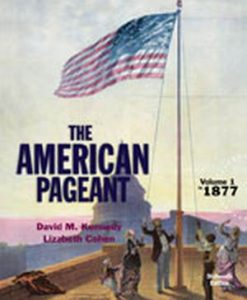 Test Bank forAmerican Pageant, Volume 1, 16/e, Kennedy