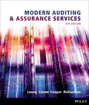 Solution Manual (Downloadable Files) for Modern Auditing and Assurance Services, 6/e, Leung
