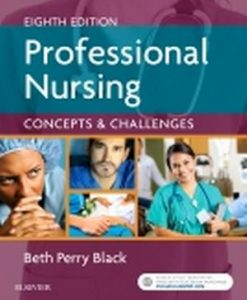 Test Bank for Professional Nursing 8e by Black