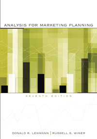 Test Bank for Analysis for Marketing Planning 7e Lehmann