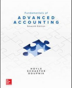 Test Bank for Fundamentals of Advanced Accounting 7e By Hoyle