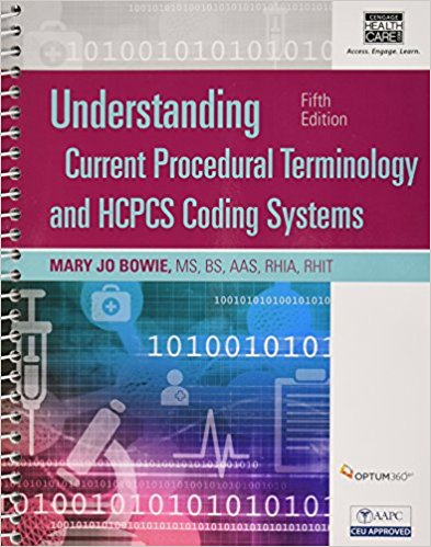 Test Bank for Understanding Current Procedural Terminology and HCPCS Coding Systems 5e by Bowie