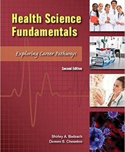 Test Bank for Health Science Fundamentals 2e by Chesebro