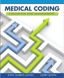 Test Bank for Medical Coding Evaluation and Management 1e by Jones