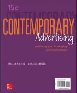 Test Bank for Contemporary Advertising 15e By Arens