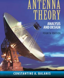 Solution Manual for Antenna Theory: Analysis and Design 4e Balanis
