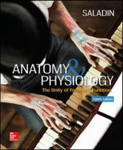 Test Bank for Anatomy & Physiology: The Unity of Form and Function 8e By Saladin