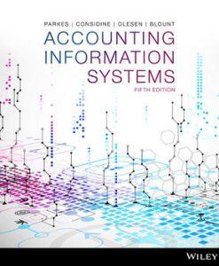 Test bank for Accounting Information Systems 5th Edition by Parkes