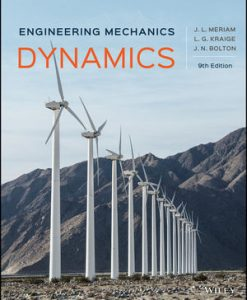 Solution manual for Engineering Mechanics: Dynamics 9th Edition by Meriam