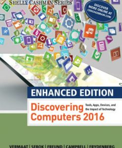 Test bank for Enhanced Discovering Computers ©2017 1st Edition by Vermaat
