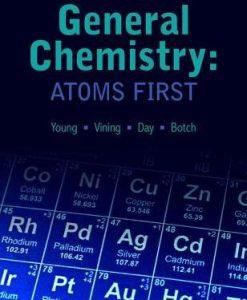 Test bank for General Chemistry: Atoms 1st Edition by Young