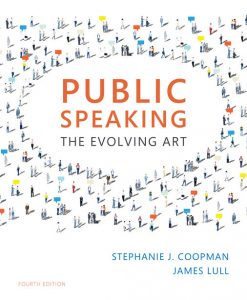 Test bank for Public Speaking: The Evolving Art 4th Edition by Coopman