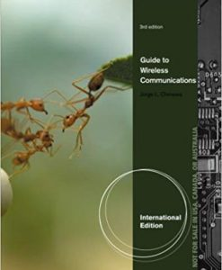Test Bank for Wireless# Guide to Wireless Communications, 3rd Edition, Mark Ciampa, Jorge Olenewa, ISBN-10: 1111545693, ISBN-13: 9781111545697