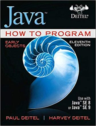 Test Bank Downloadable Files For Java How To Program Early Objects 11th Edition Paul Deitel ISBN 13 9780134743356