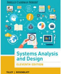 Systems Analysis and Design 11th Edition Tilley Test BankSystems Analysis and Design 11th Edition Tilley Test Bank