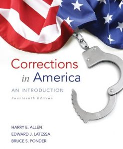 Solution Manual for Corrections in America: An Introduction 14th Edition Harry E. Allen
