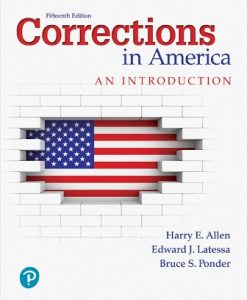Test Bank for Corrections in America: An Introduction 15th Edition Harry E. Allen