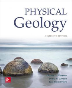 Test Bank for Physical Geology 16th Edition Charles (Carlos) Plummer