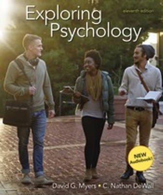 Test Bank for Exploring Psychology 11th Edition David G. Myers