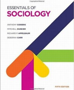 Test Bank for Essentials of Sociology 5th Edition Edition Anthony Giddens