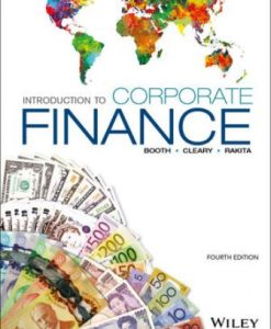 Test Bank for Introduction to Corporate Finance 4th Edition Laurence Booth