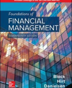 Test Bank for Foundations of Financial Management, 17th Edition, Stanley Block