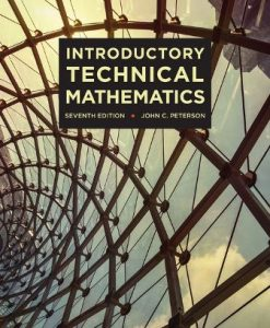 Solution Manual for Introductory Technical Mathematics 7th Edition John C. Peterson