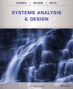 Test Bank for Systems Analysis and Design 6th Edition Alan Dennis