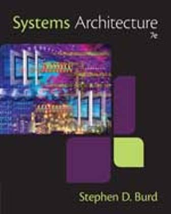 Test Bank for Systems Architecture 7th Edition Stephen D. Burd
