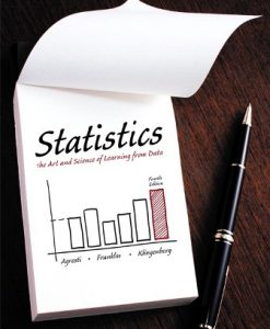 Test Bank for Statistics: The Art and Science of Learning from Data 4th Edition Alan Agresti