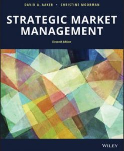 Test Bank for Strategic Market Management 11th Edition David A. Aaker