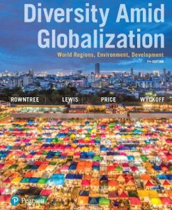 Test Bank (Downloadable Files) for Diversity Amid Globalization 7th Edition Rowntree