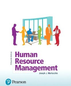 Solution Manual (Downloadable Files) for Human Resource Management 15th Edition Martocchio