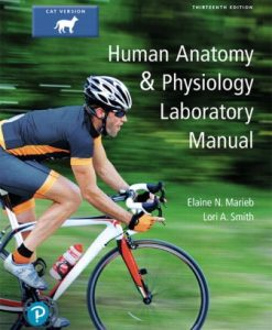 Test Bank (Downloadable Files) for Human Anatomy and Physiology Laboratory Manual, Cat version 13th Edition Marieb