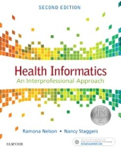 Test Bank (Downloadable Files) for Health Informatics 2nd Edition Nelson