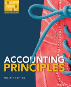 Test Bank (Downloadable Files) for Accounting Principles 12th Edition Weygandt