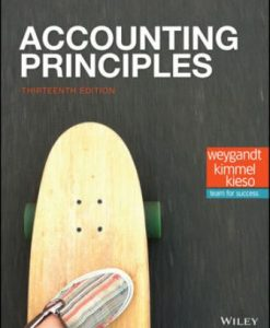 Solution Manual (Downloadable Files) for Accounting Principles 13th Edition Weygandt