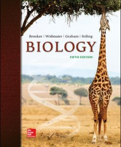 Test Bank (Downloadable Files) for Biology 5th Edition Brooker