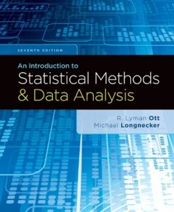 Solution Manual for An Introduction to Statistical Methods and Data Analysis 7th Edition R. Lyman Ott