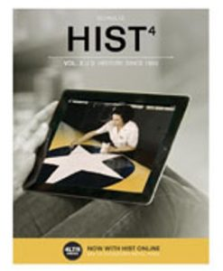 Test Bank (Downloadable Files) for HIST4, Volume 2 4th Edition Schultz