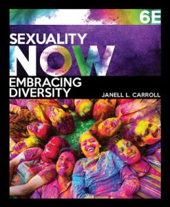 Test Bank for Sexuality Now: Embracing Diversity 6th Edition Janell L. Carroll