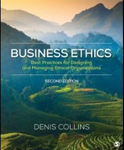 Test Bank (Downloadable Files) for Business Ethics 2nd Edition Collins